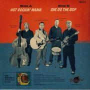 A.J. & The Rockin' Trio 45 RPM Back