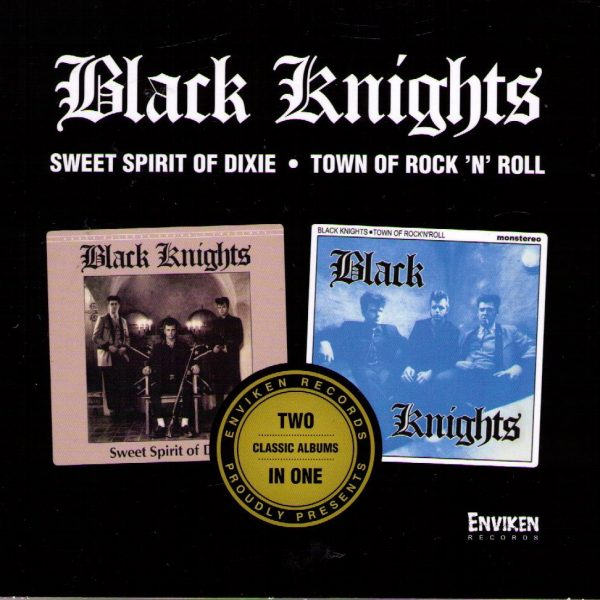 Black Knights 2 LPs Front