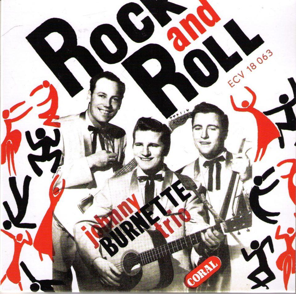 Johnny Burnette Trio ECV 18 063 Front