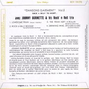 Johnny Burnette & his Rock'n'Roll Trio ECV 18 078 Back