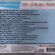 The Brillian Tears 18 New DooWop Recordings Club of Broken Hearts CD Back Teensville Records tv1008