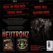 The Neutronz Raucous 45 RPM 404 500 Back