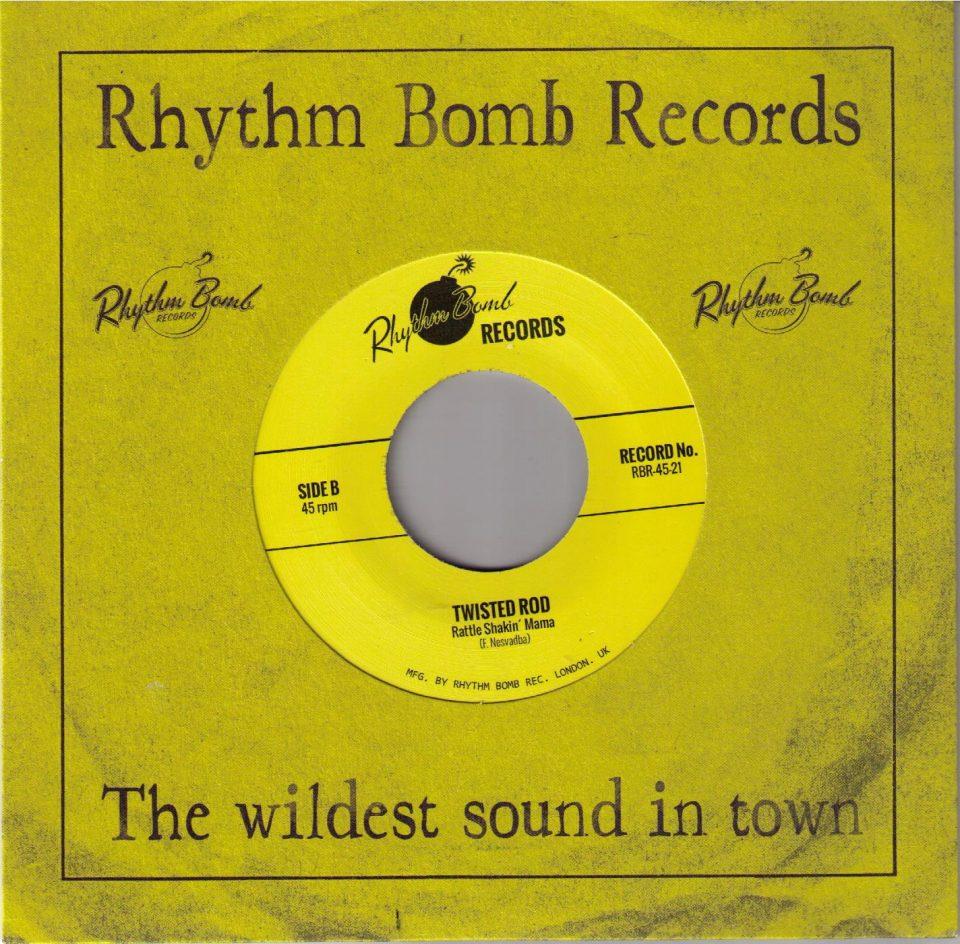 Twisted Rod Rhyrthm Bomb RBR 45-21 Front
