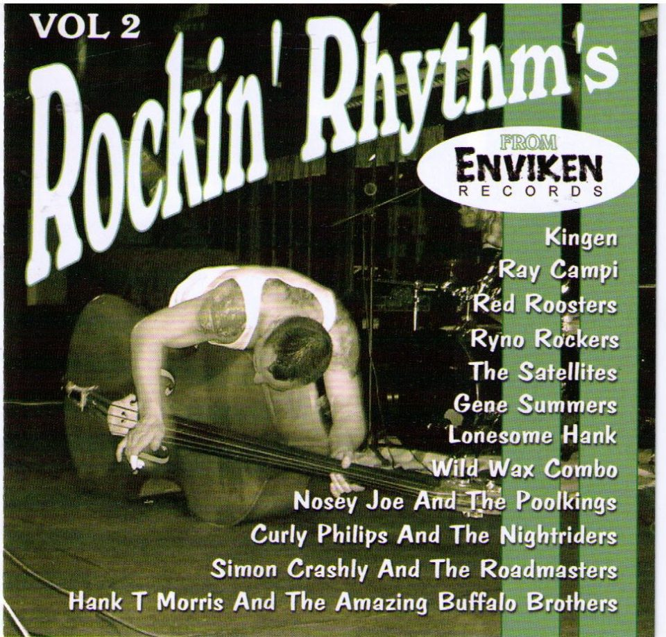 Rockin Rhythms Enviken Vol 2 Front