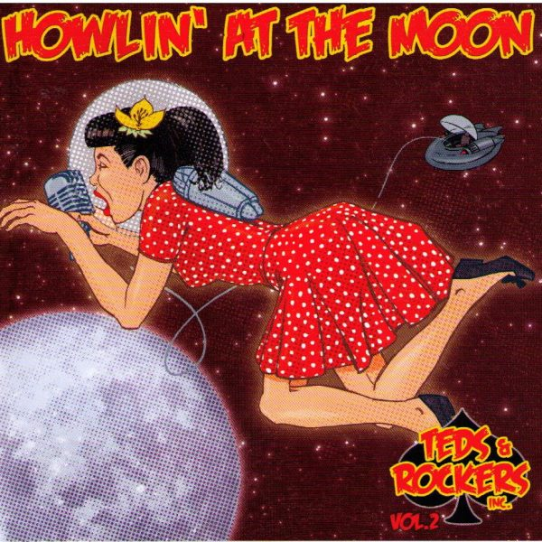 Teds And Rockers Howlin At The Moon Vol. 2 Front