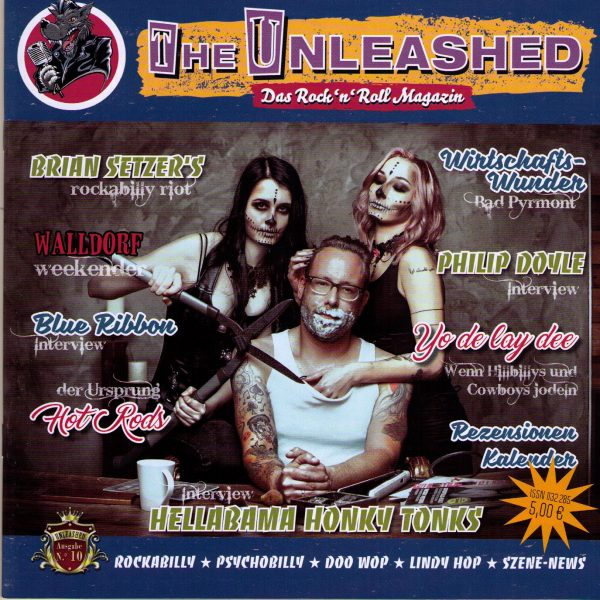 Unleashed Magazin Ausgabe 10 Front