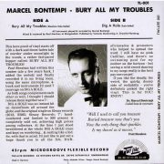 Marcel bontempi Bury my troubles back