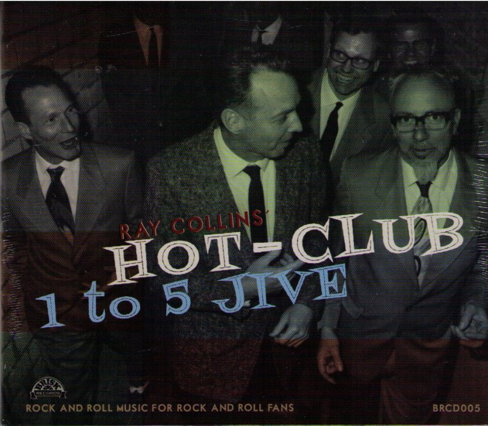 Ray Collins Hot Club 1 to 5 CD