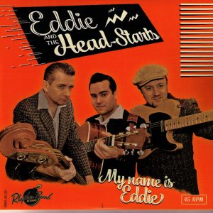 Eddie and the Head-Stants My Name is Eddie Front