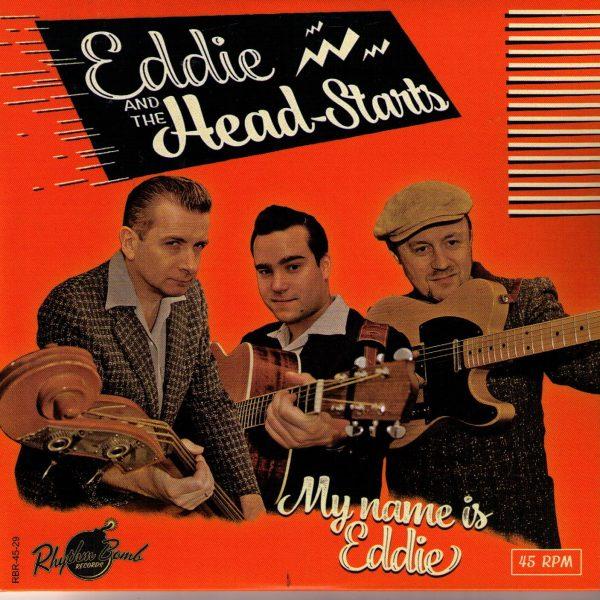 Eddie and the Head-Stants My Name is Eddie Front