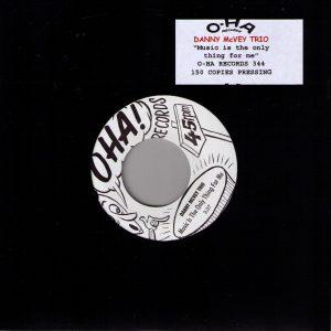 Danny Mc Vey Trio Front