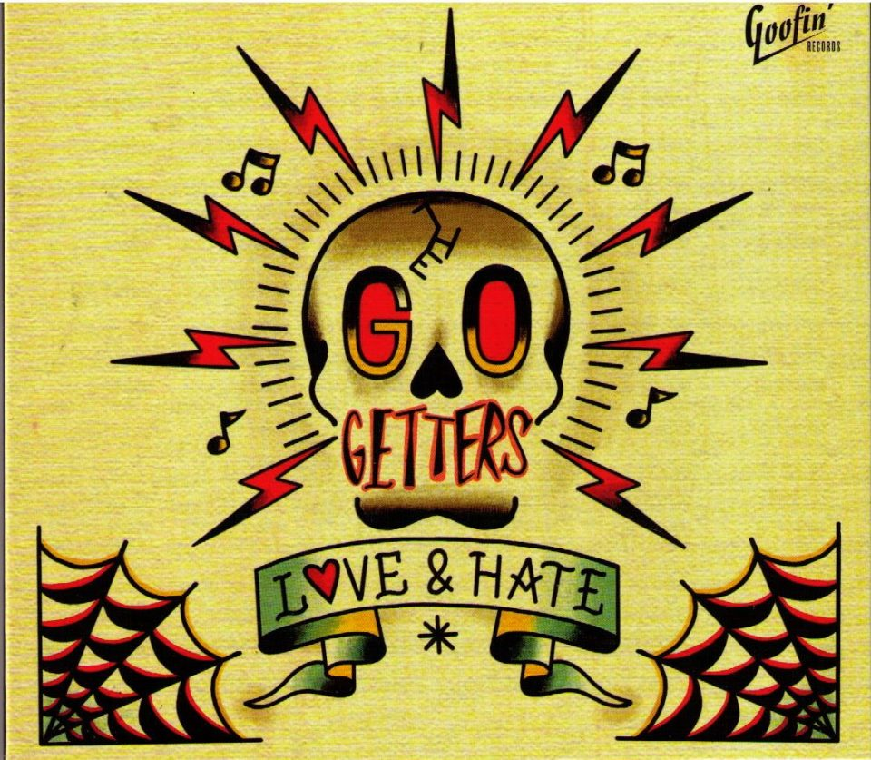 Go Getters Love and Hate CD front