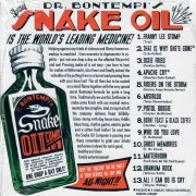 Bontempi Snake Oil CD back