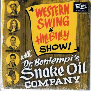 Bontempi Snake Oil CD front