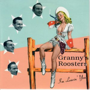 Granny's Roosters I'm leaving you Tessy Front
