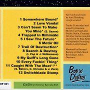 Bop'n'Destroy Mental Shakedown CD front back