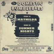 Domestic Bumblebees Mathilda back