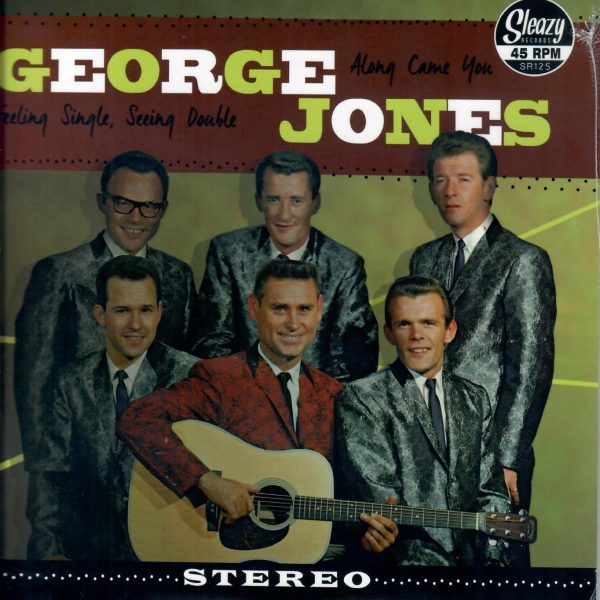 George Jones EP front Sleazy