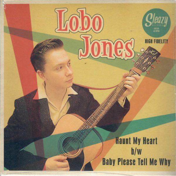 Lobo Jones Haunt me front