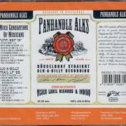 Panhandle Alks Düsseldorf CD back