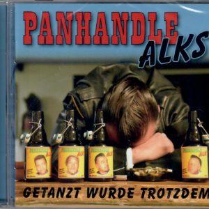 Panhandle Alks Getanzt wurde trotzdem CD front