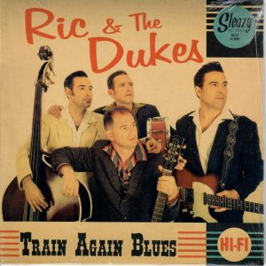 Ric & the Dukes Train again Blues Front