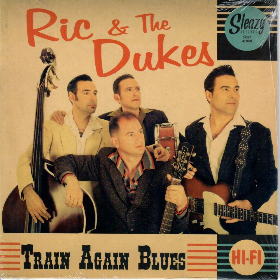 Ric & the Dukes Train again Blues Front