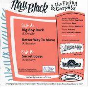 Ray Black Migraine 45 back