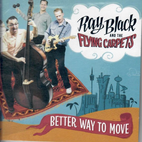 Ray Black Better way to Move CD front