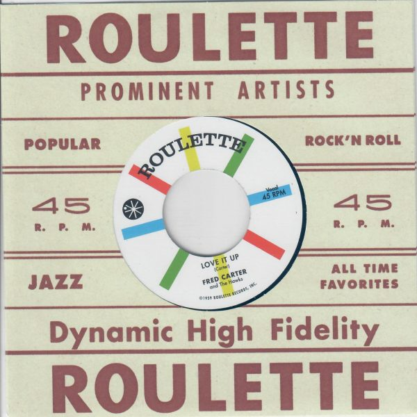 Fred Carter Si Roulette front