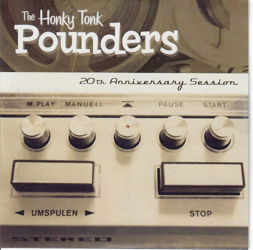 Honky Tonk Pounders 4 Track CD front