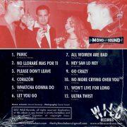 Rhythm Shakers Panic CD back