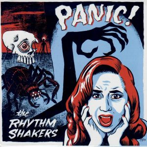 Rhythm Shakers Panic CD front