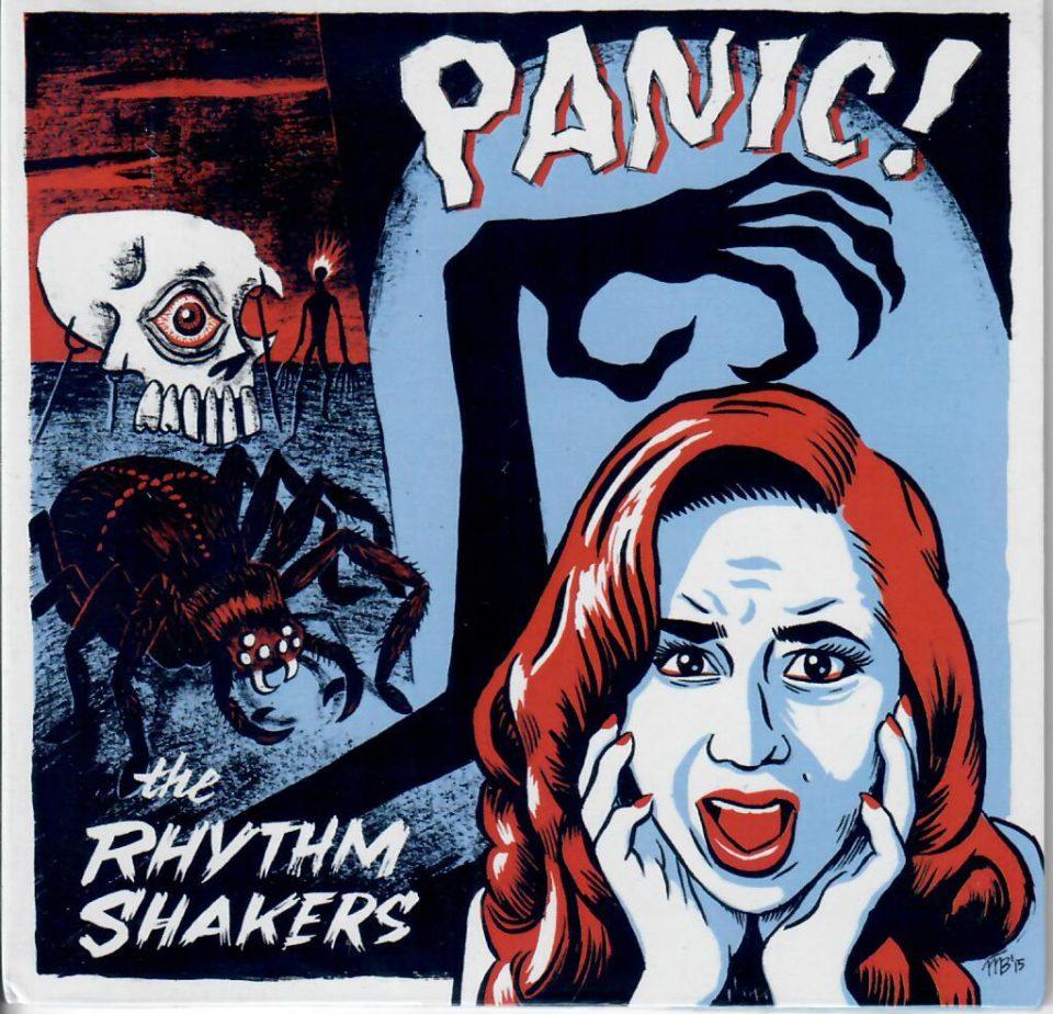 Rhythm Shakers Panic CD front