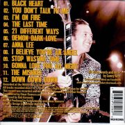 Sonny West in Hollywood CD back
