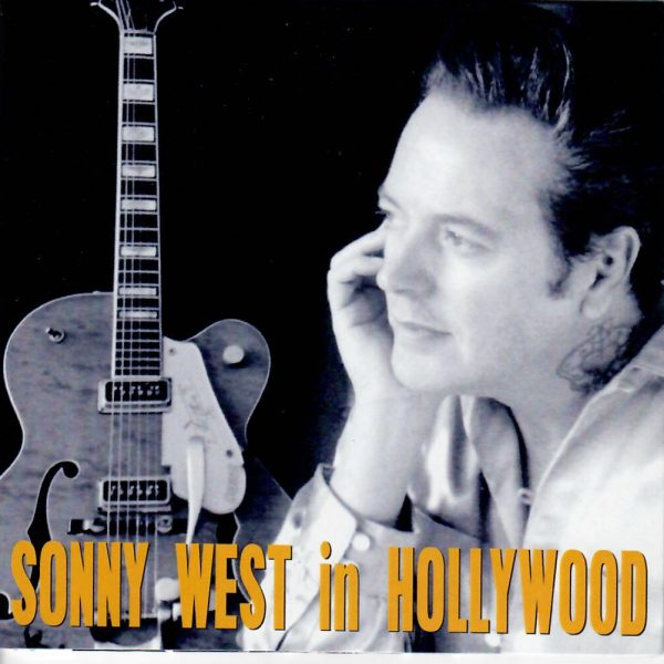 Sonny West in Hollywood CD front