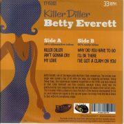 Betty Everett Killer Diller back