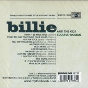 Billie and the Kids Soulful Woman CD back