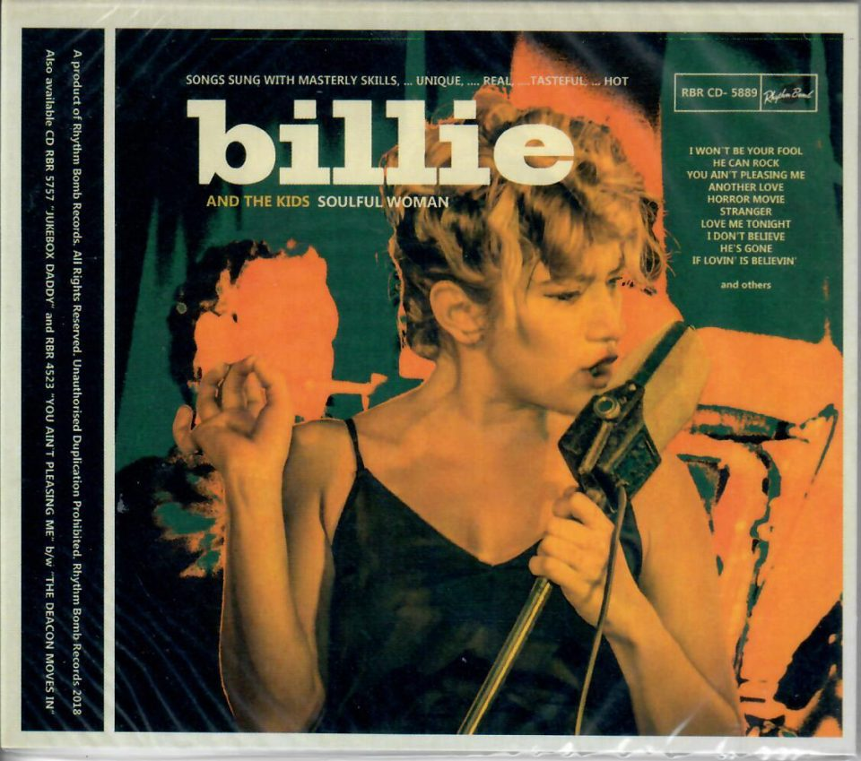 Billie and the Kids Soulful Woman CD front