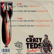 Crazy Teds Kamikaze back