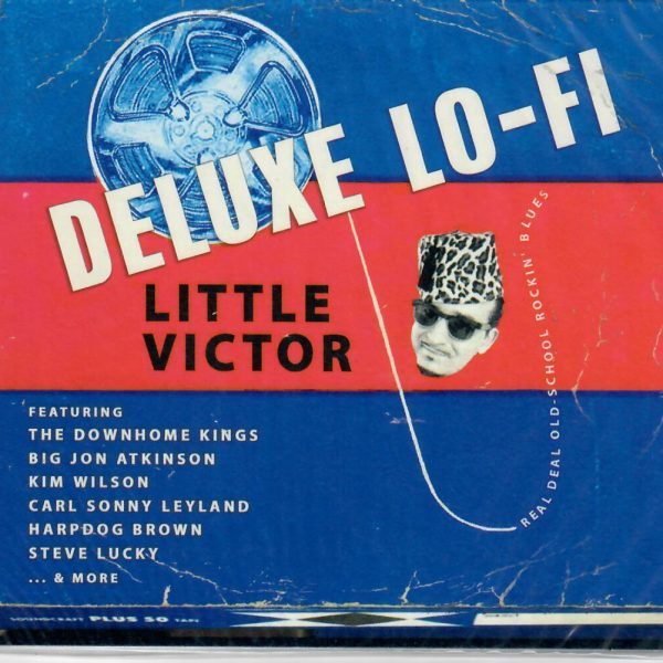Lilttle Victor Deluxe Lo-Fi CD front