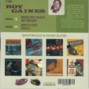 Roy Gaines si back