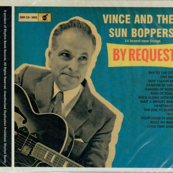 Vince & the Sun boppers by request front