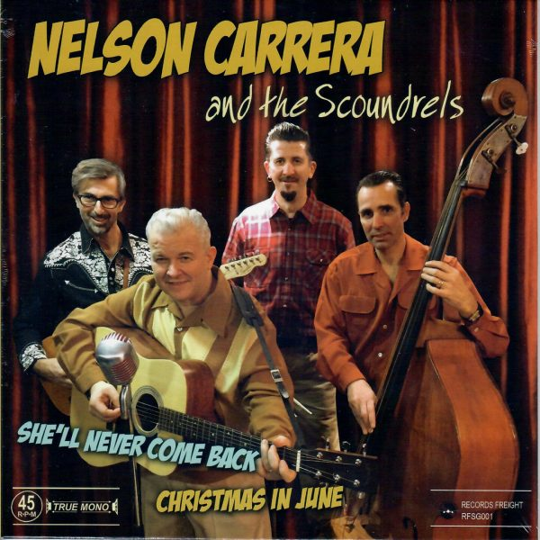 Nelson Carrera She'll never come back front