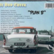 Be Bop Creek Plan B CD back