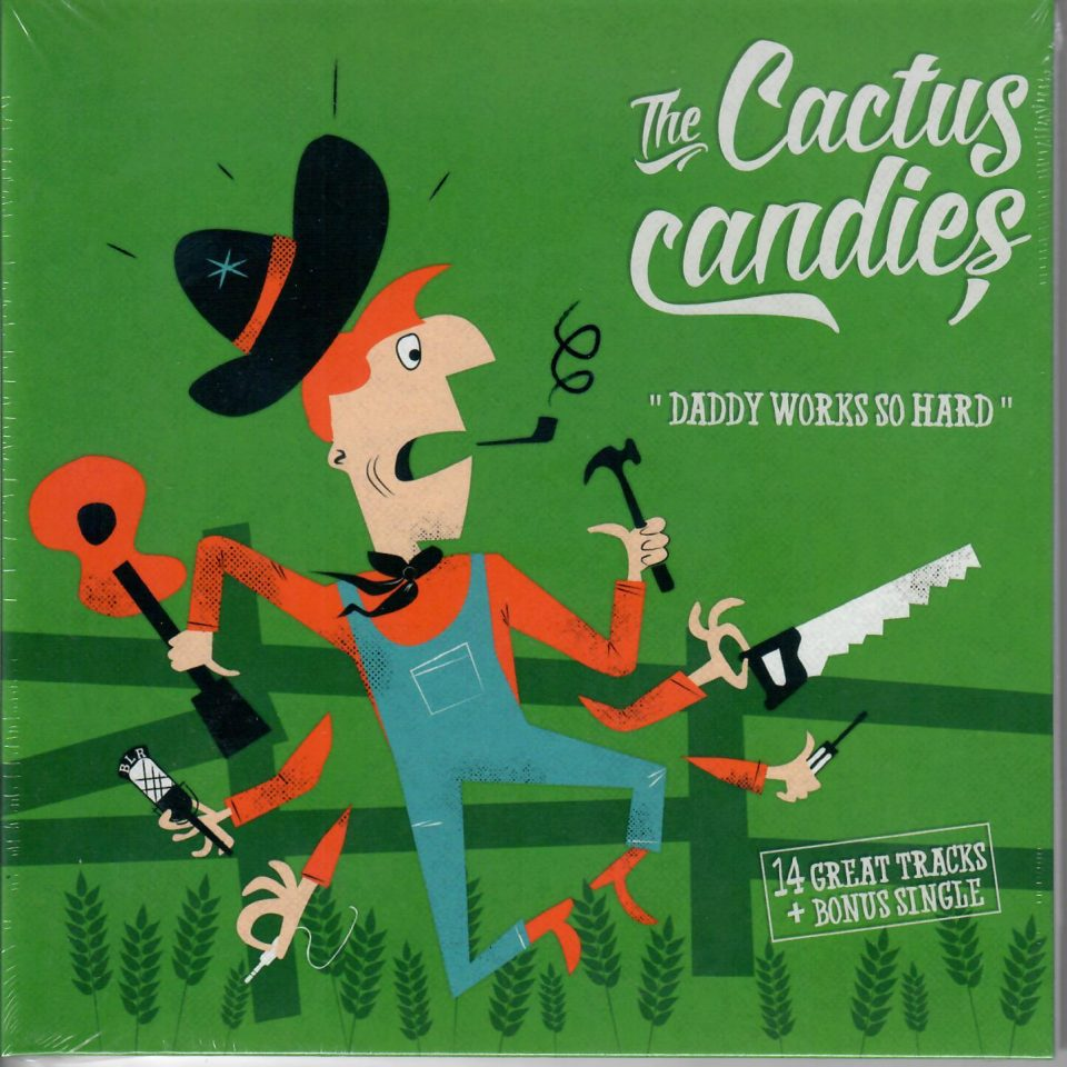 Cactus Candies Daddy Cd+Single front