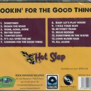 Hot Slap Looking CD back