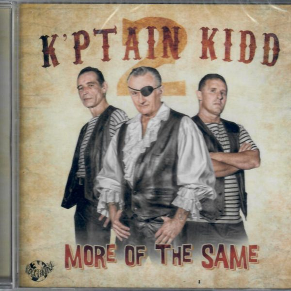 K'ptain Kidd more of the same CD front