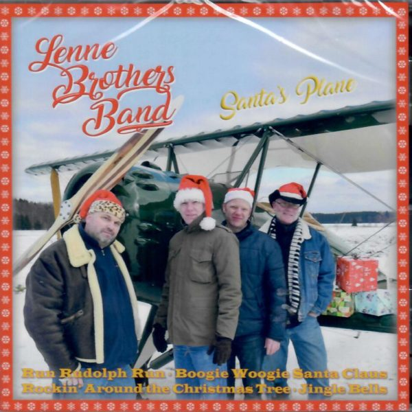 Lennebrothers Santa CD front