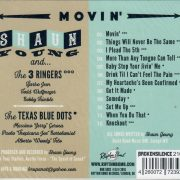 Shaun Young Movin' CD back